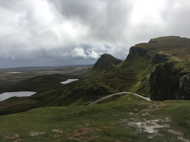 Road to Quiraing, Isle of Skye, Scotland