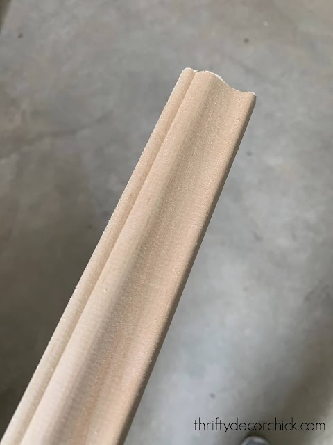 Simple decorative trim for wainscoting