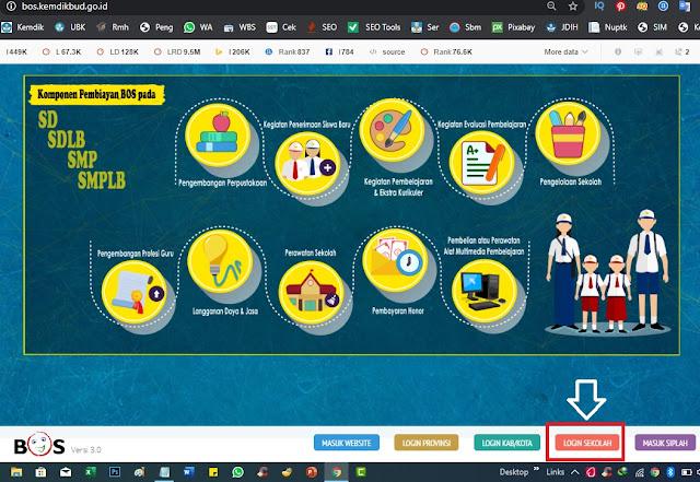 Cara Update Rekening Bank Sekolah Tahun  Merdeka Belajar :  Cara Update Rekening Bank Sekolah Tahun 2020
