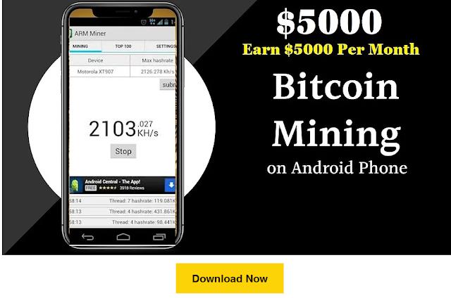 Bitcoin mining app - Earn free Bitcoin