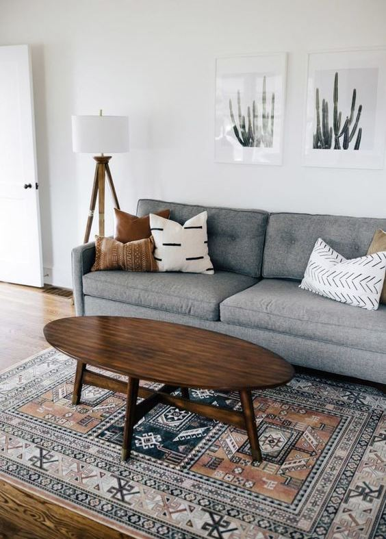 simple and cozy living room desing