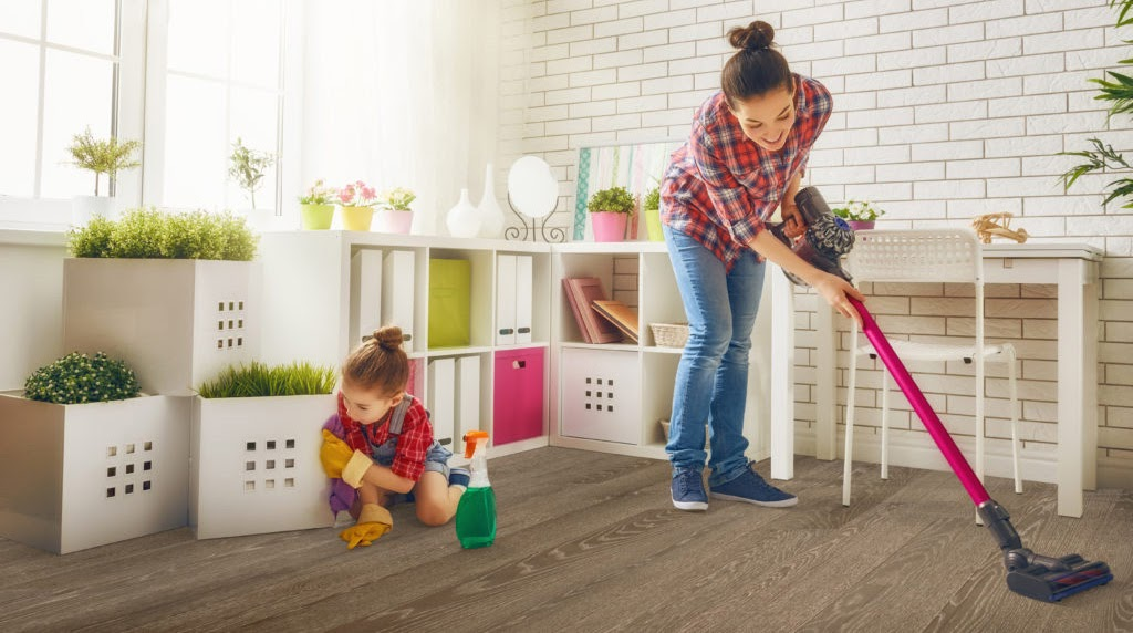 Cleaning Your Home in Half the Time