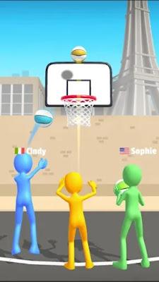 Screenshot Five Hoops - Basketball Game - Apcoid