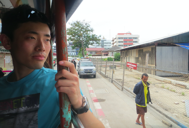 songthaew in Bangkok