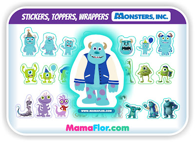 Imprimibles de Monsters Inc GRATIS para Fiesta de Cumpleaños