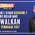 Pembayaran I-Sinar Kategori 1 Untuk Bulan Mac Diawalkan Ke 22 Februari 2021