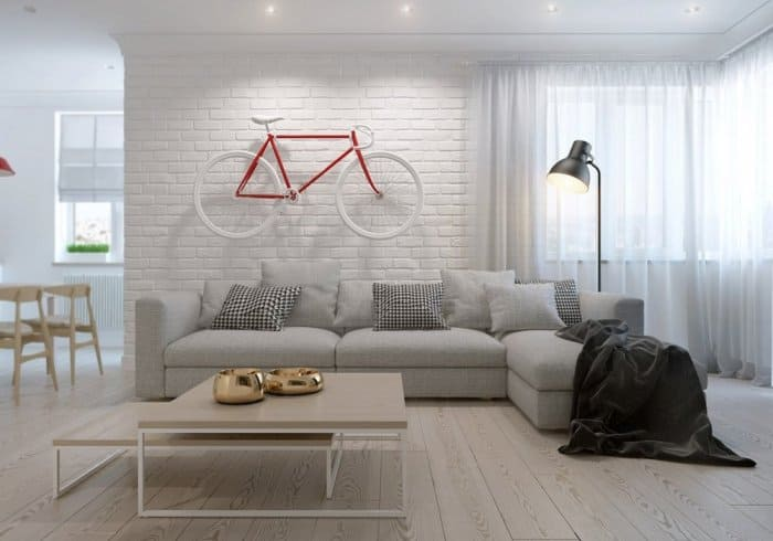 Interior wall decorations with creative ideas