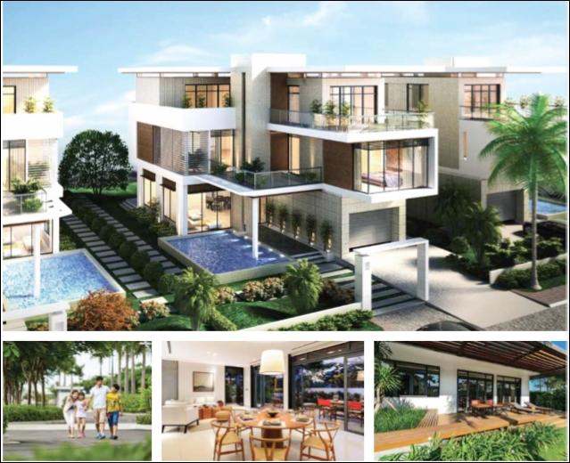 Cho thuê biệt thự đơn lập Lucasta nội thất cao cấp Khang Điền Quận 9