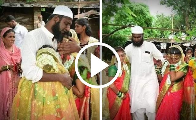 Viral : मुस्लीम मामानं केलं हिंदू मुलीचं कन्यादान || Marathi news