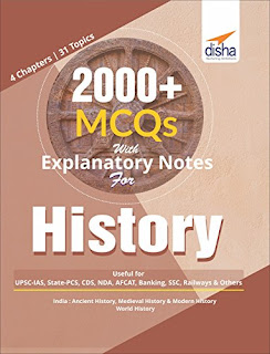 Indian History Explanatory Notes with 2000+ MCQs