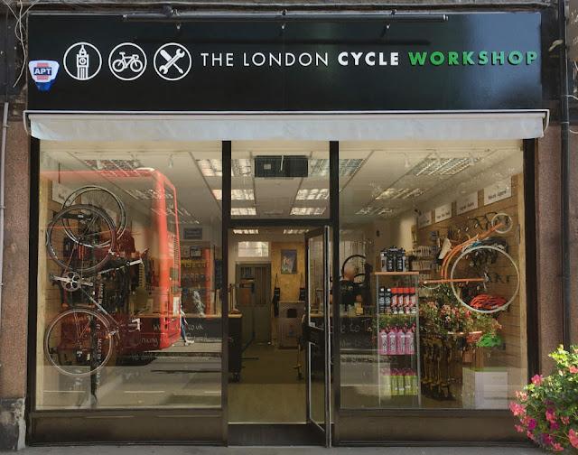 London Cycle Workshop shop