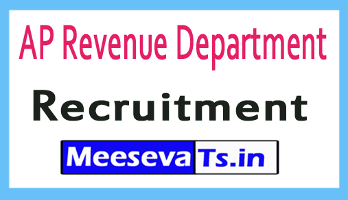 AP Revenue Department Recruitment