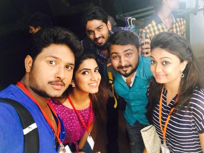GK Photoes: Vijay tv pagal nilavu serial Actress Sameera Sherief ...