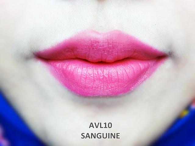 review absolute new york velvet lippie sanguine