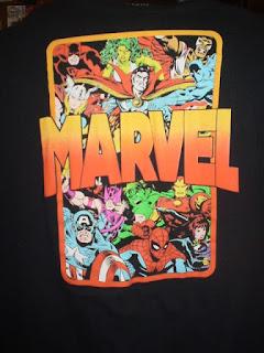 New Marvel T-shirt for 2021
