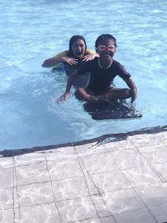 berenang di batturaden