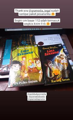 Bazar buku gedebuk gramedia