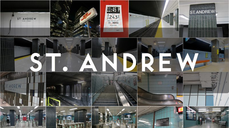 Photo gallery for St. Andrew TTC subway station
