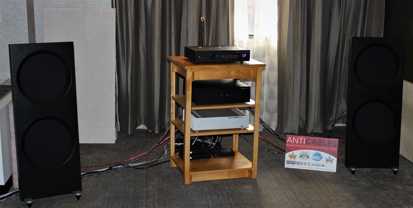 The Vinyl Anachronist: CAF 2018: Spatial Audio, Linear Tube Audio