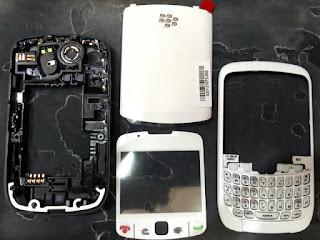 Casing Blackberry BB 8520 Gemini Fullset Original Housing