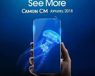 TECNO releases first full-screen display smartphone, CAMON CM