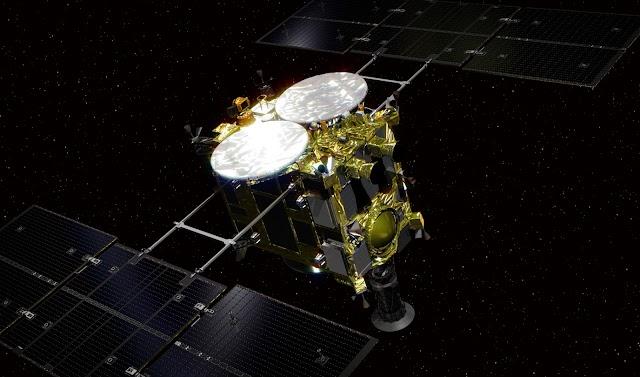 Hayabusa2 makes final touchdown on Ryugu Asteroid