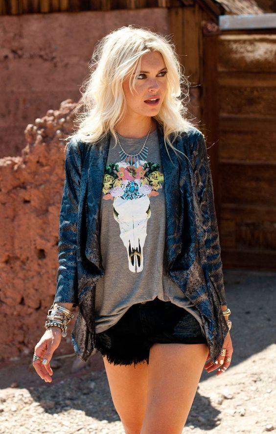 fashion modern boho girls  seaofgirasoles