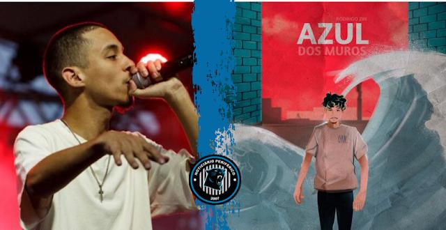 """Rodrigo Zin antecipa novo  disco com o cenário pós-apocalíptico do single """"Azul dos Muros"""""""