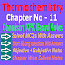 Chemistry Class 11 Notes | Thermochemistry | Chapter Eleven