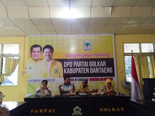 Menyambut Nurdin Halid, Partai Golkar Bantaeng Gelar Berbagai Acara