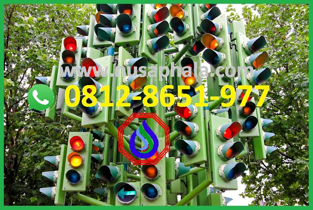 gambar lampu traffic light