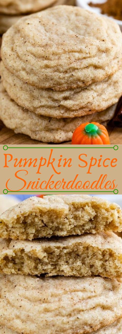 Pumpkin Spice Snickerdoodles #pumpkin #spice #desserts #cakes #diet