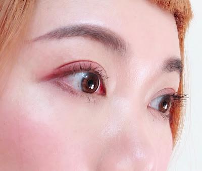 Heme六色眼影盤 紅梨