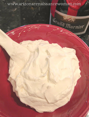 Whipped Mascarpone Cheese for Nectarine Rolled Tacos