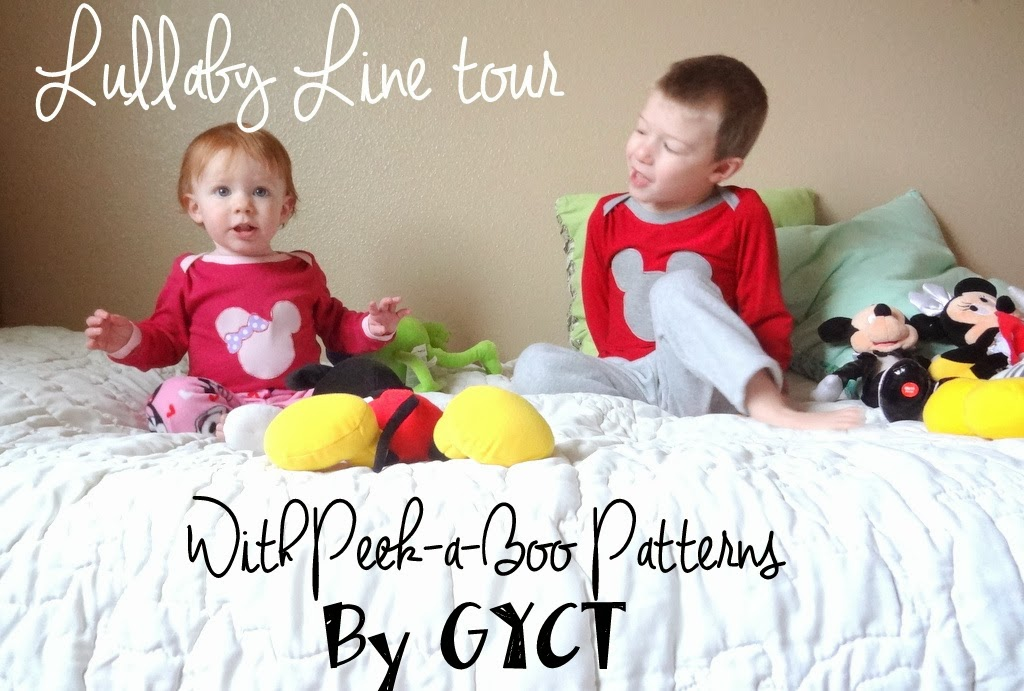 Peekaboo Patterns Lullaby Tour sewn by GYCT