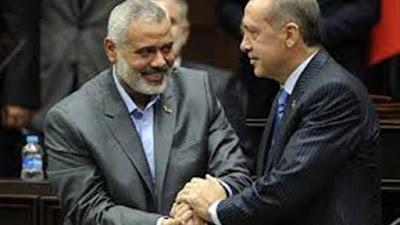 إسماعيل هنية، ورجب أردوغان- أرشيفية