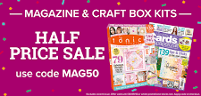 Half price magazine sale: Use code MAG50!