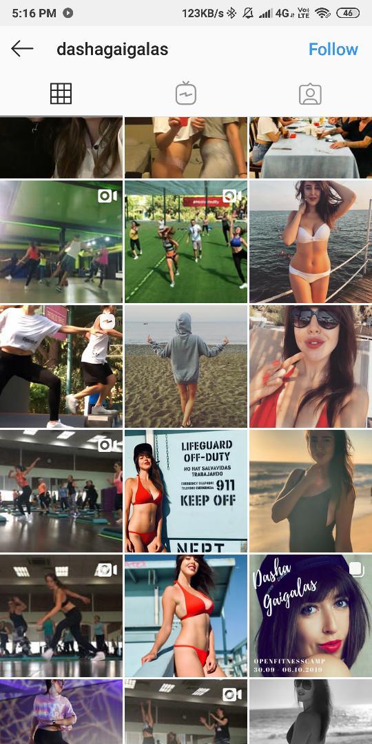 sexy girls to follow on instagram