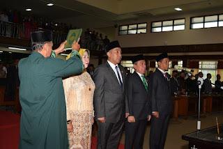 Empat Pimpinan Definitif DPRD NTB Resmi Dilantik