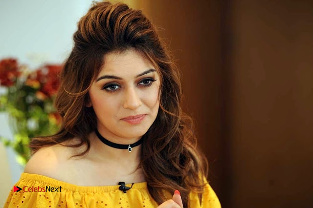 Actress Hansika Motwani Latest Stills in Yellow Dress  0008.jpg