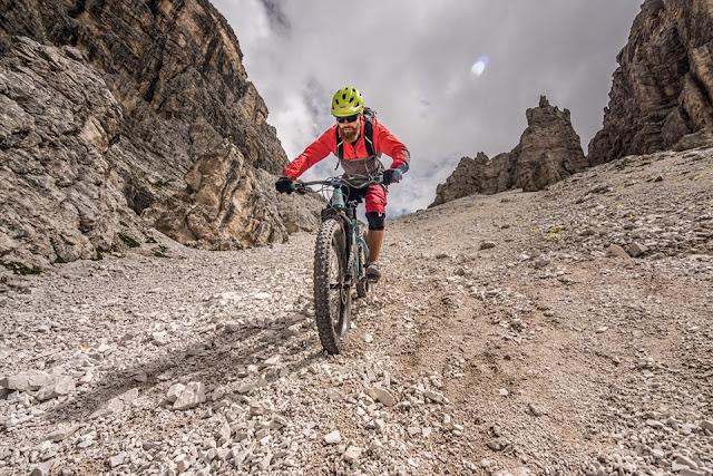 GPX Track MTB Mountainbike Hochebenkofel (2905 m) - Lückele-Scharte (2545 m) Dolomitentour