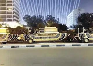 موعد  نقل موكب   المومياوات الملكية  من  المتحف المصري تحت  اشراف  وزارة  السياحة  والآثار.