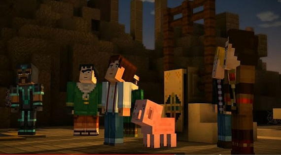 Minecraft Story Mode Season 1 All Episodes PC Game Download