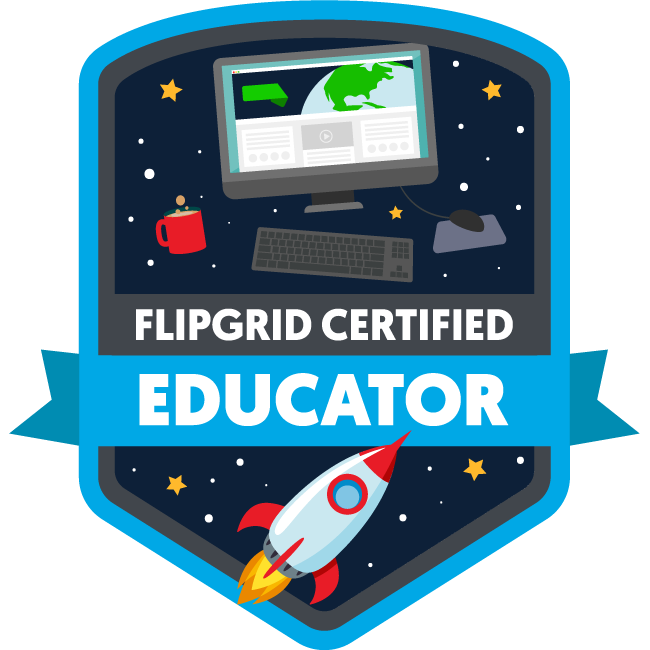 I'm a Flipgrid Certified Teacher!