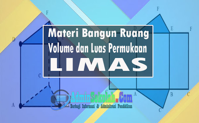Materi Volume dan Lua Permukaan Limas Lengkap Soal Latihan