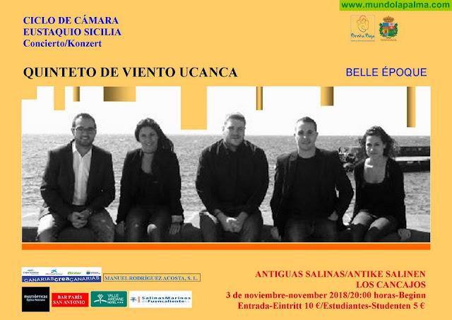 """LAS SALINAS: Quinteto de Viento """"Ucanca"""""""