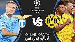 مشاهدة مباراة بوروسيا دورتموند ولاتسيو بث مباشر اليوم 02-12-2020 في دوري أبطال أوروبا