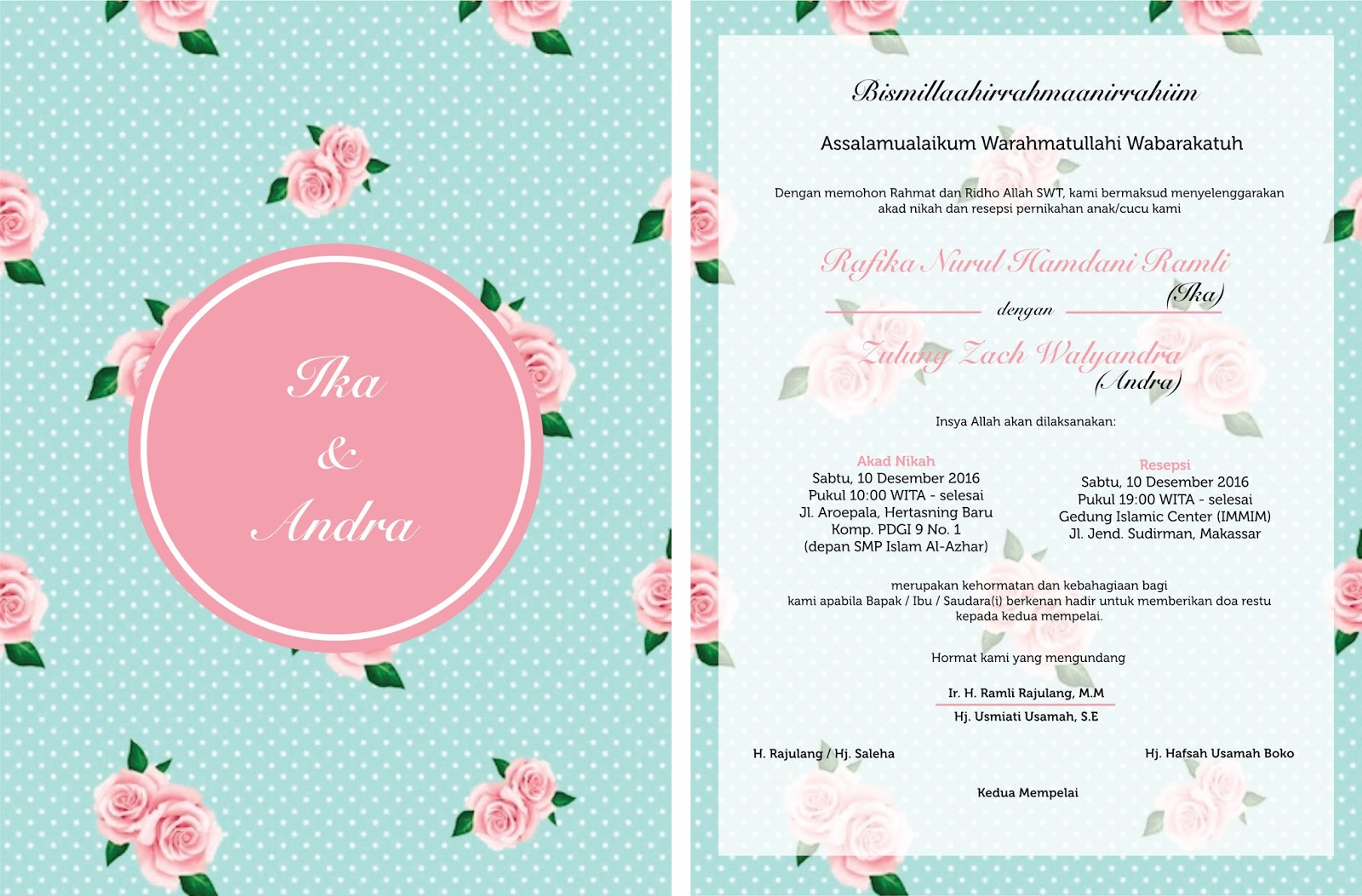 Kamar kiki indonesian wedding invitation philosophy first attempt stopboris Gallery
