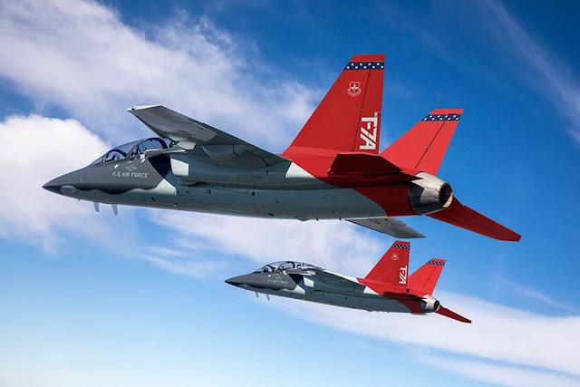 T-7 Red Hawk tests