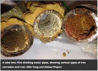 Flint rusty piping